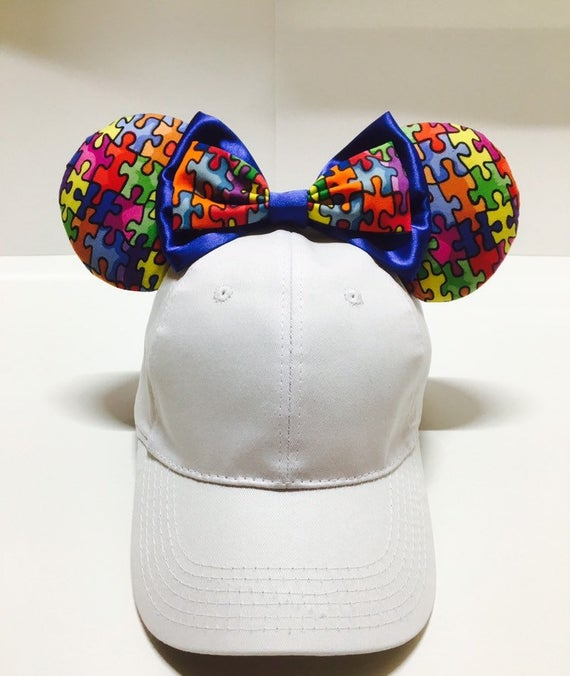 Autism Awareness Mickey Ears Hat