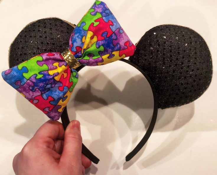 Autistic Child Mickey Ears