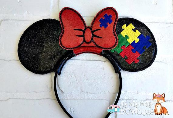 Autism Mom inspired Mouse Ears