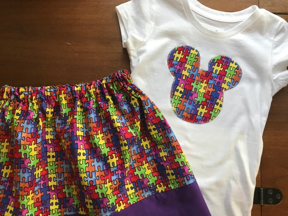 Autism Awareness Mickey Mouse Outfit Mickey Mouse Autism Awareness Disney Outfit
