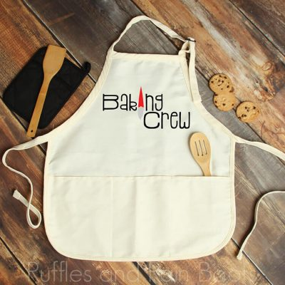 Free Baking Crew SVG for Cricut and Silhouette