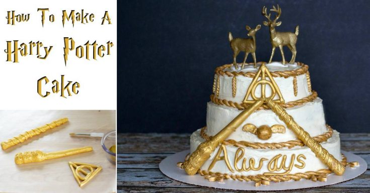 Magical Harry Potter Cake