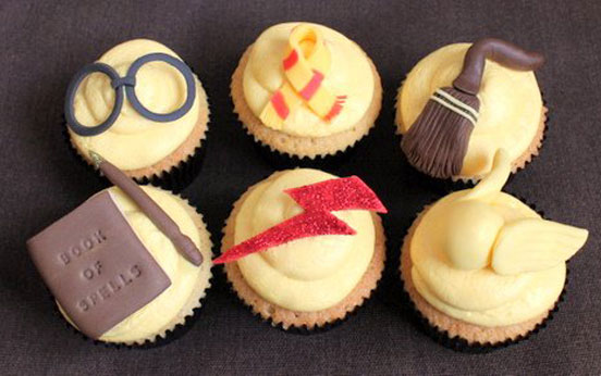 Harry Potter-inspired Cupcakes
