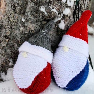 Use This Free Gnome Knitting Pattern to Make a Christmas Gnome