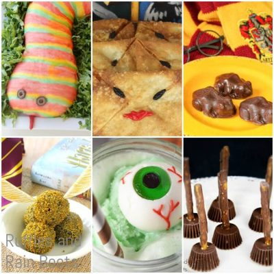 The Best Harry Potter Recipes for a Party or Halloween