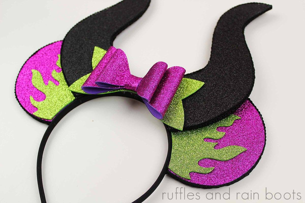 Knock Their Socks Off With These Maleficent Mickey Ears