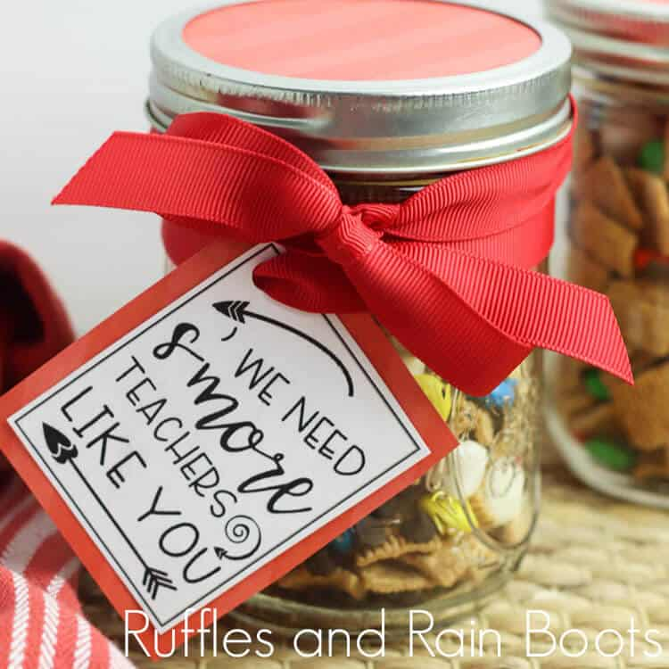 close-up of Back to School Snack Gift for Teacher S