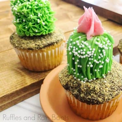 How to Decorate Easy Cactus Cupcakes if You're Not a Pastry Chef