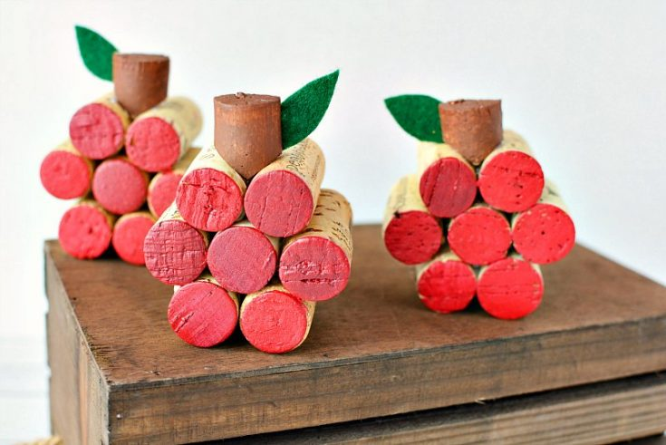 Apple Wine Cork Craft