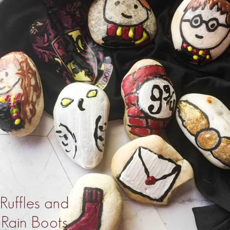 These Harry Potter Rock Painting Ideas are Perfect for Any Fan