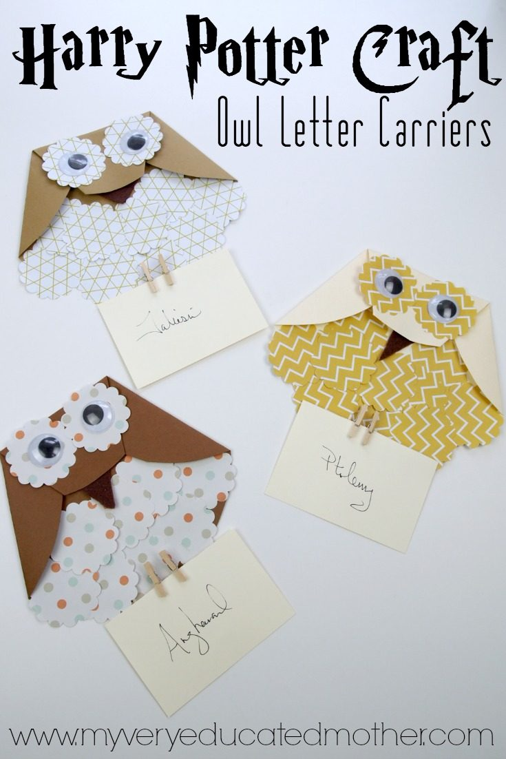 Paper Owl Letter Carriers