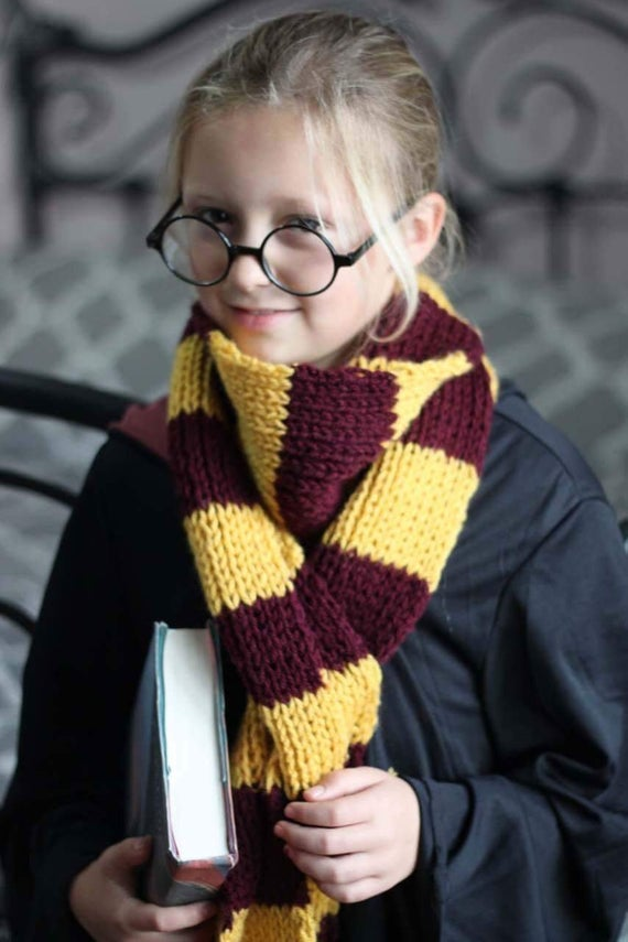 Harry Potter Inspired Scarf Pattern
