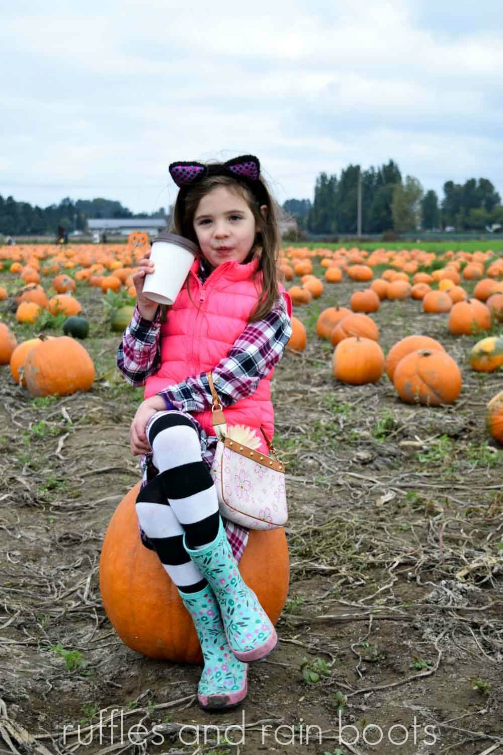 what to wear to a pumpkin patch in Seattle Washington
