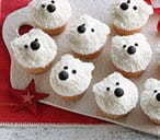 Polar Bear Cupcakes Recipe | Easy Christmas Baking Recipes