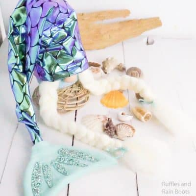 This Girl Mermaid Gnome is a Mermaid Hat Gnome Everyone Loves!