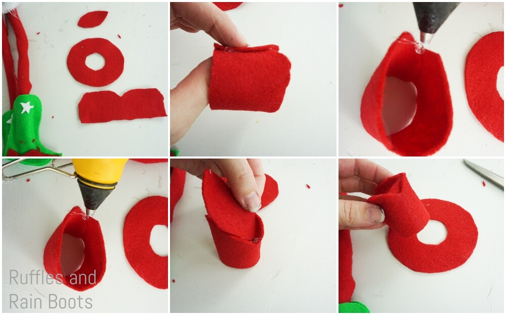 how to make a cowboy hat for a christmas gnome