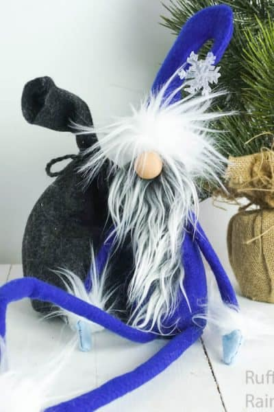 how to make a tomte for winter