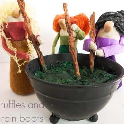 These Hocus Pocus Gnomes are the Best Halloween Gnome Ever!