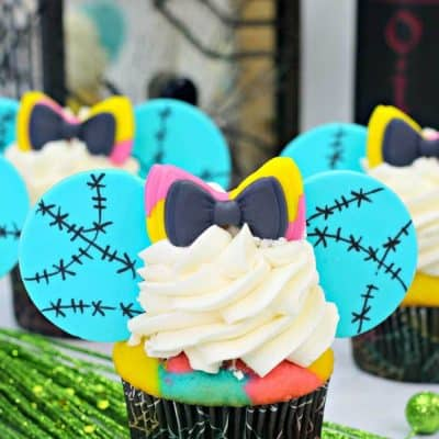 Easy and Fun Sally Nightmare Before Christmas Cupcake Recipe