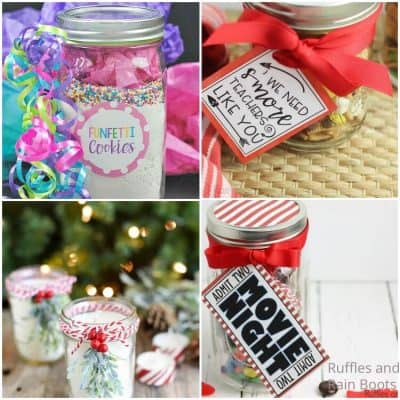 Best Gift in a Jar Ideas for Christmas and Other Occasions!