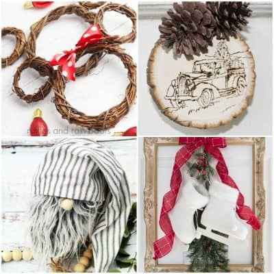 DIY Farmhouse Christmas Crafts and Gift Ideas You Can Make!