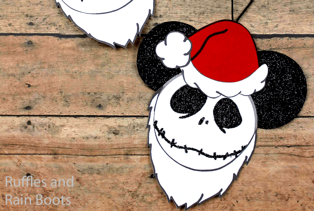 how to make jack skellington ornaments for christmas