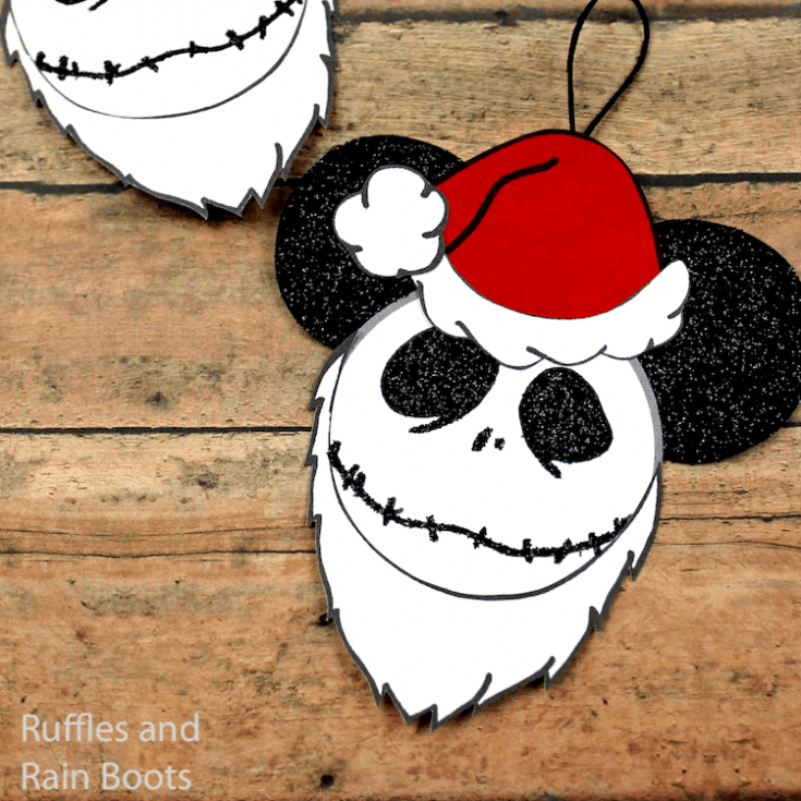 how to make nightmare before christmas ornaments