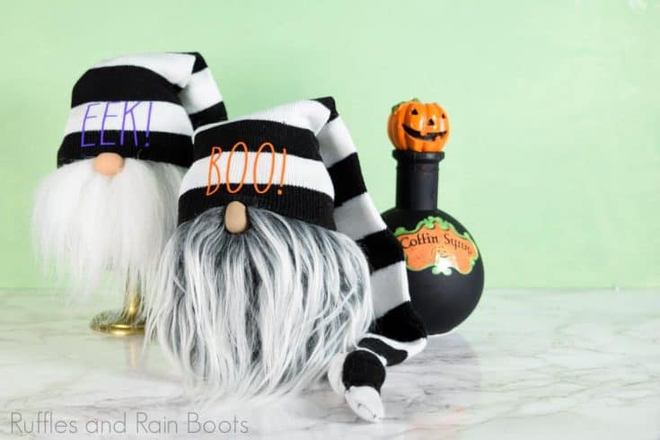 Halloween Sock Gnome Tutorial