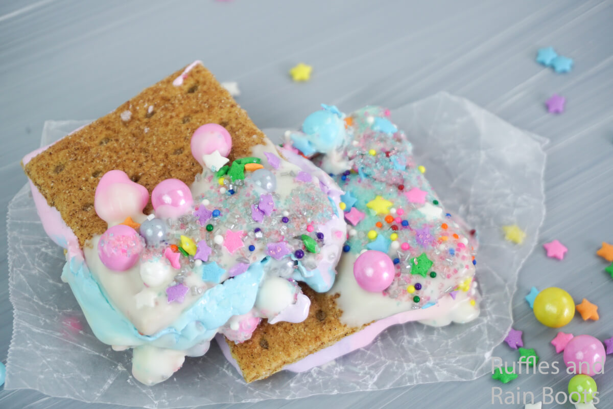 kid-friendly s'mores recipe an easy sleepover recipe for a unicorn party