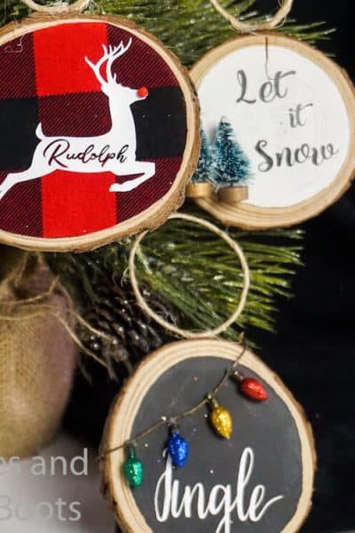 how to make christmas ornaments with free svgs for cricut
