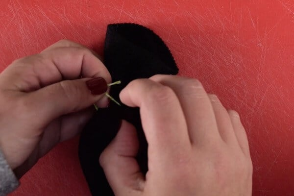 how to make a sock gnome step 3 tie off sock