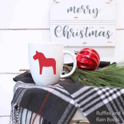 Versatile Scandinavian Dala Horse SVG for Holiday Crafts