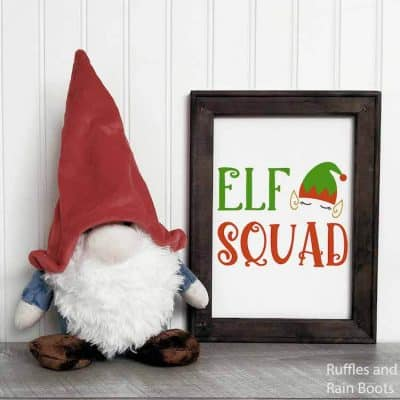 Get This Elf Squad SVG Collection for Christmas Crafts