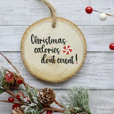 Get This Funny Christmas Calories SVG Collection
