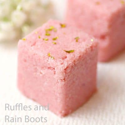 These Rose Gold Body Scrub Cubes are Awesome Gifts!
