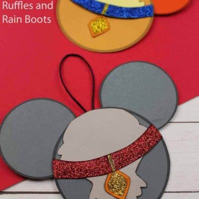 Make Lady and the Tramp Ornaments, Disney Christmas Ornaments