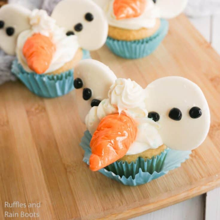how to make frozen cupcakes with olaf