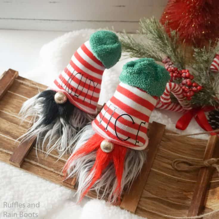 Naughty and Nice Gnomes - How to Make a Sock Gnome