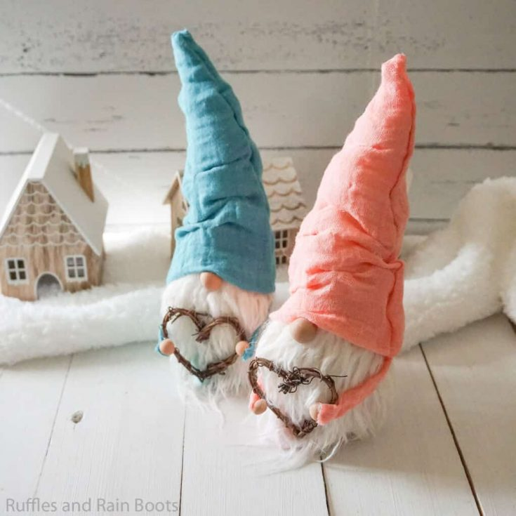 Easy No-Sew Gnome Pattern