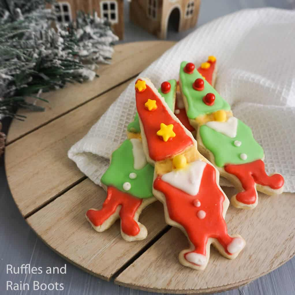 how to make gnome cookies for christmas