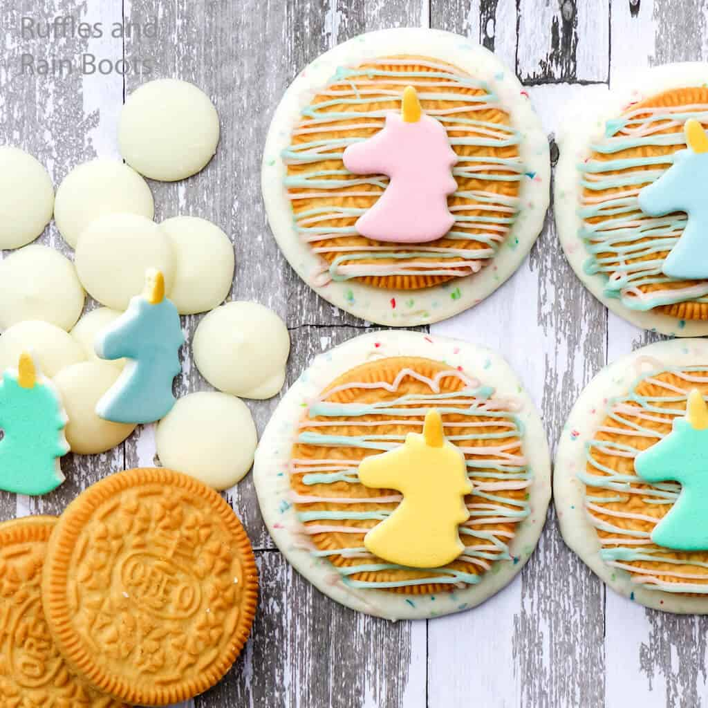 how to make cookies for a unicorn party