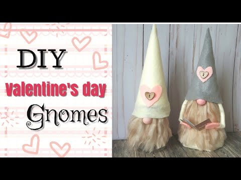 DIY Valentine's Day Gnomes