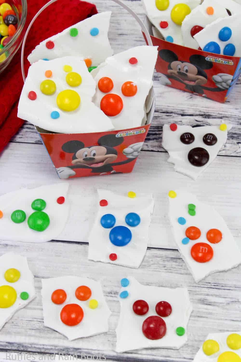mickey mouse party treat