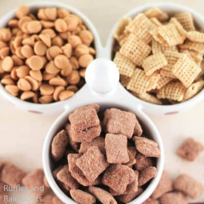 Reece's Peanut Butter Cup Muddy Buddies Make the Best Snack!