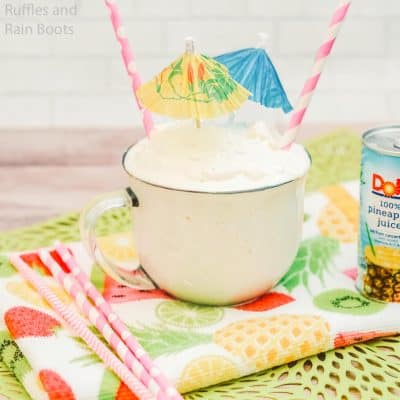 Make This Awesome Disney Dole Whip Inspired Treat–YUM!