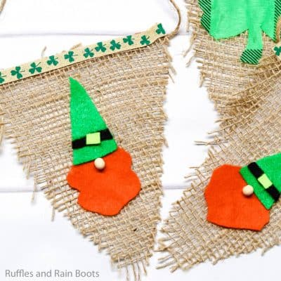 This Adorable Saint Patrick's Day Gnome Garland Is So Fun!
