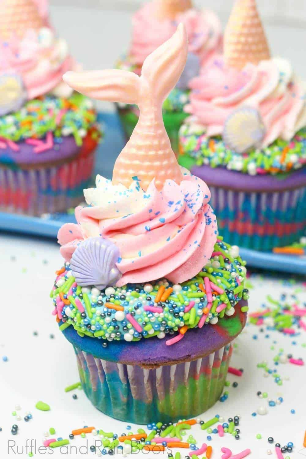 mermaid cupcake recipe for a party