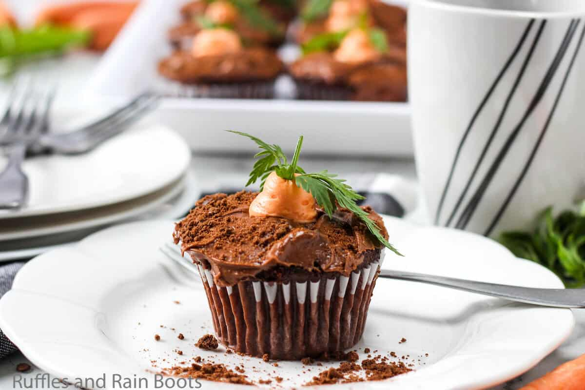 easy recipe for carrot easter cupcakes