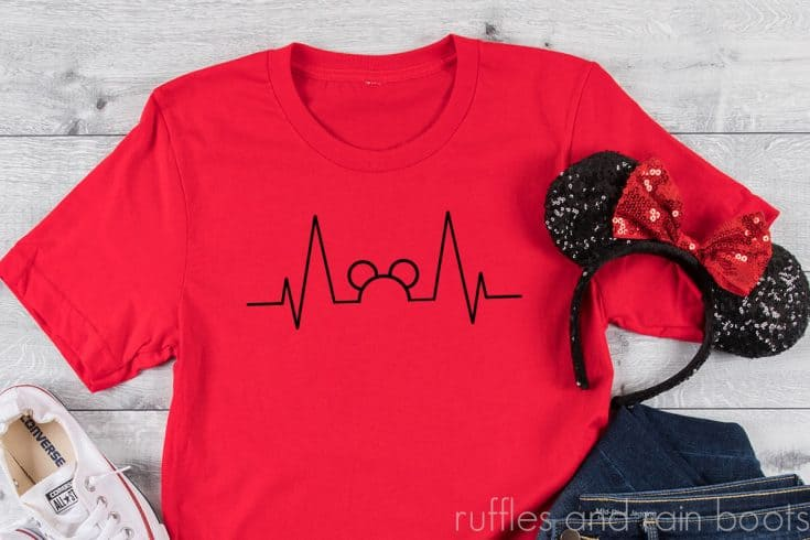 This Free Mickey Heartbeat SVG is Perfect for Nurses or Any Disney Fan