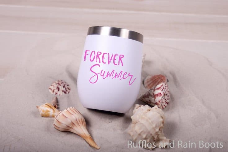 Make a Fun DIY Summer Shirt with this Forever Summer SVG